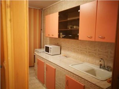 Inchiriez apartament 2 camere, et 1, CT, mobilat si utilat, central